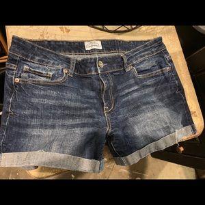 Aeropostale denim shorts size 11/12